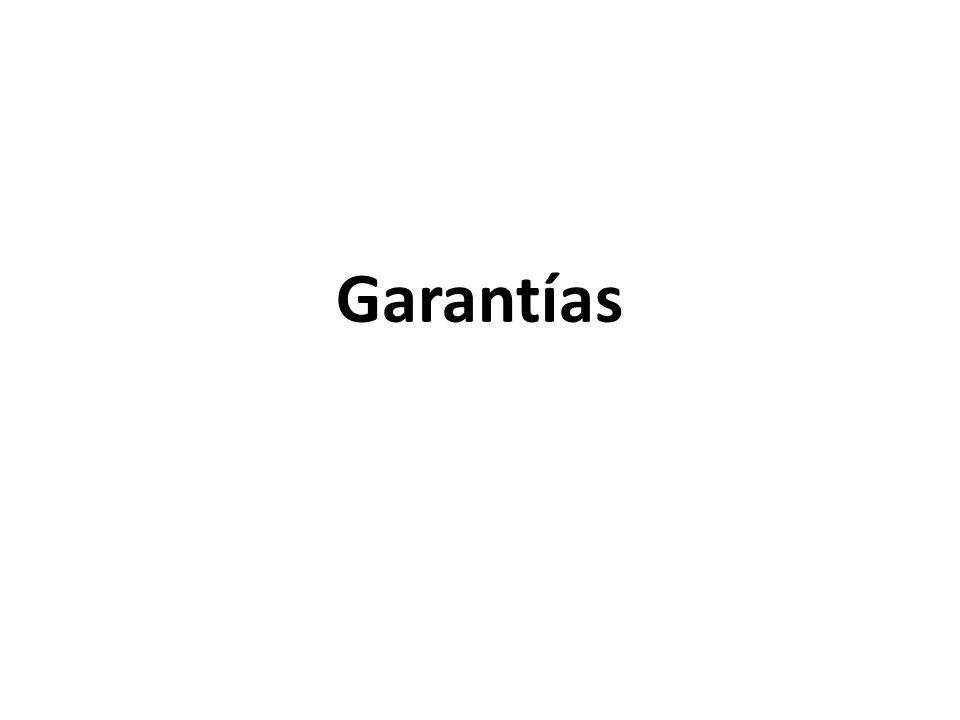 Las garantías que deben otorgar los postores y/o contratistas, según corresponda, son las de fiel cumplimiento del contrato, por los adelantos y por el monto diferencial de propuesta.