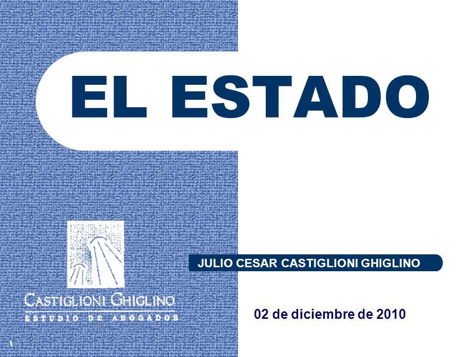 EL ESTADO 1 JULIO CESAR CASTIGLIONI GHIGLINO 02 de diciembre de 2010