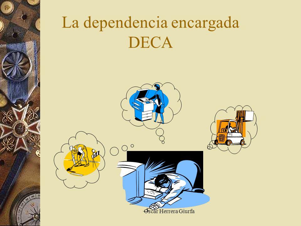 Oscar Herrera Giurfa La dependencia encargada DECA