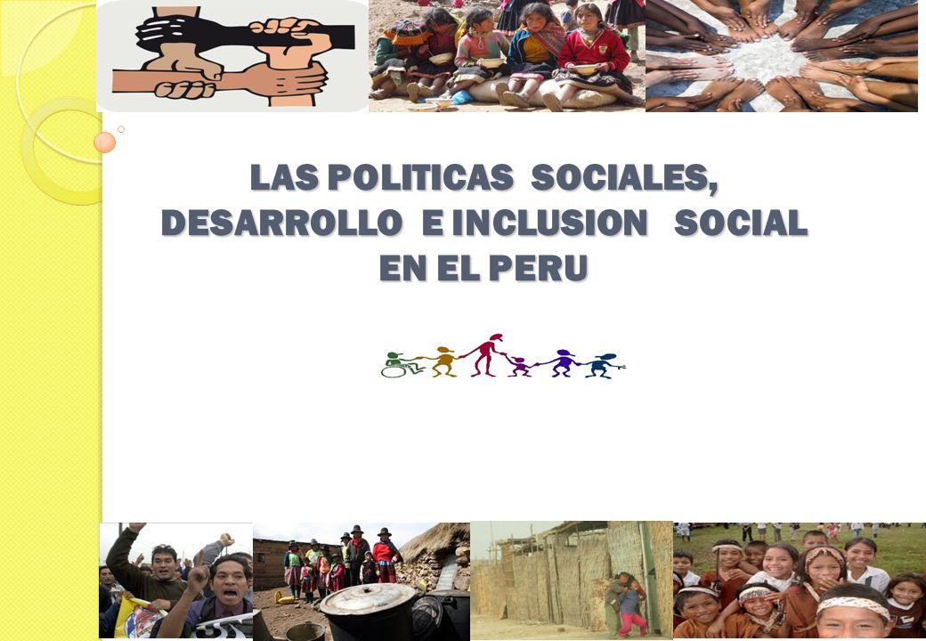 LA EXCLUSION SOCIAL Pobreza, integralmente concebida, puede manifestarse como las insuficientes oportunidades que tienen las personas para desarrollar sus capacidades y por lo tanto sus proyectos de vida.