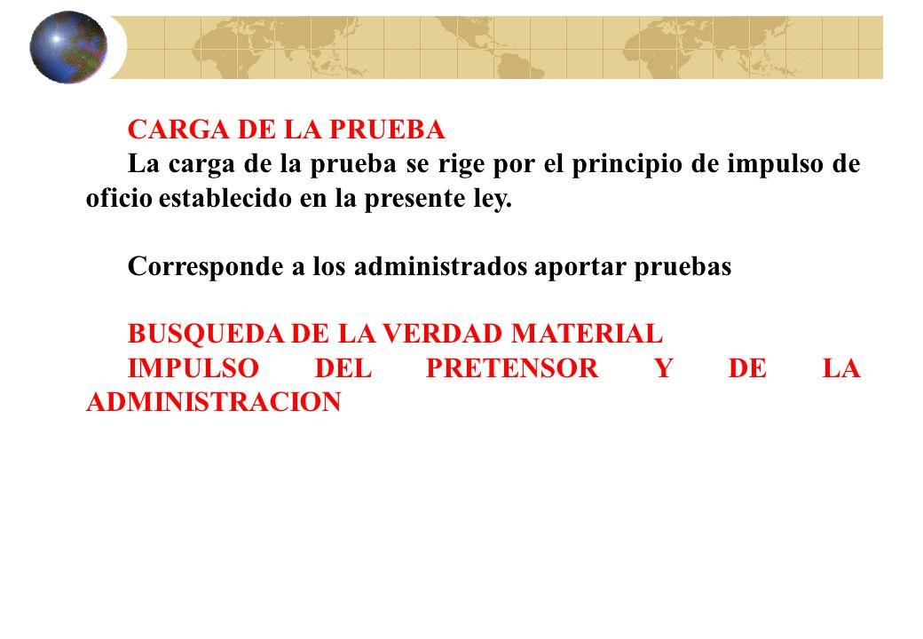 DESARROLLO Y EFECTOS DE LA AUDIENCIA PÚBLICA La comparencia a la audiencia no otorga, por si misma, la condición de participante en el procedimiento.