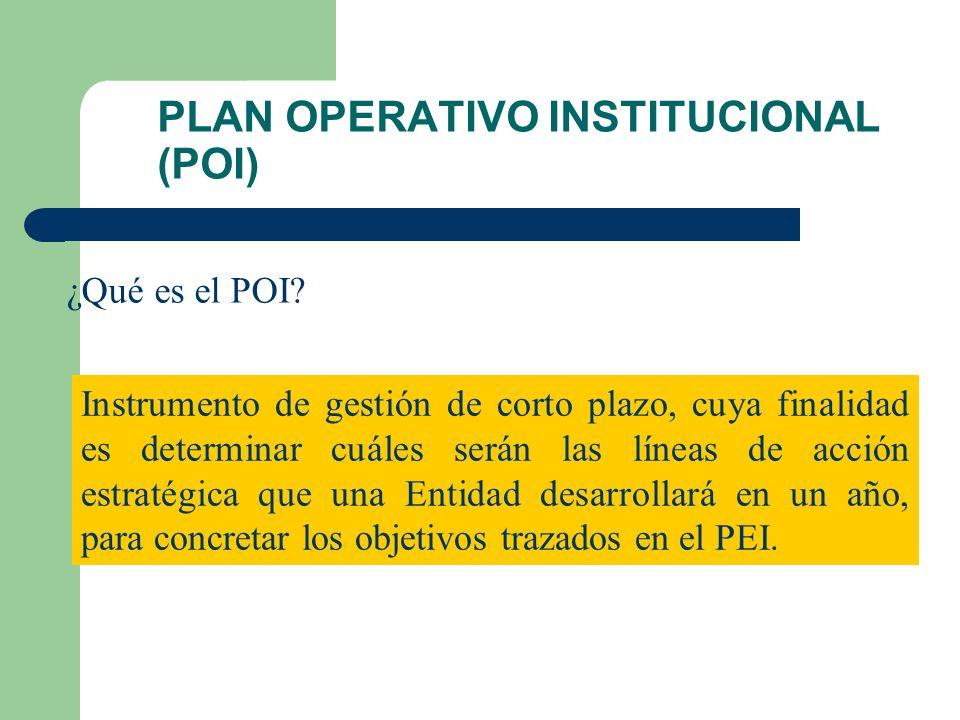 PLAN ESTRATÉGICO INSTITUCIONAL (PEI) ¿Qué es el PEI? Es el instrumento que contiene la ruta que la Entidad debe seguir a mediano plazo (cinco años); c