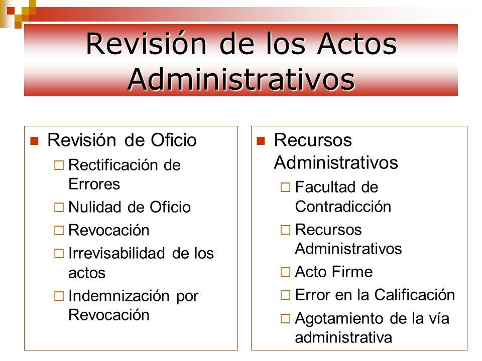 Revisión de Oficio Rectificación de Errores Rectificación de Errores Es el medio procesal que busca rectificar cualquier error material o aritmético, tiene efecto retroactivo.