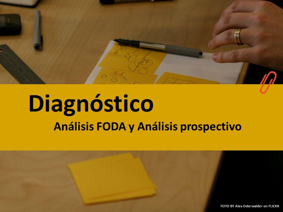 Diagnóstico Análisis FODA y Análisis prospectivo FOTO BY Alex Osterwalder on FLICKR