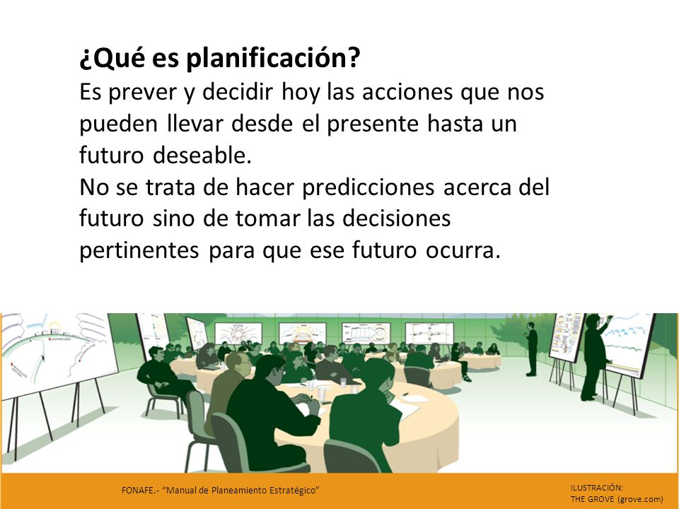 ¿Qué es Planificación Estratégica.Business Model Generation Book.