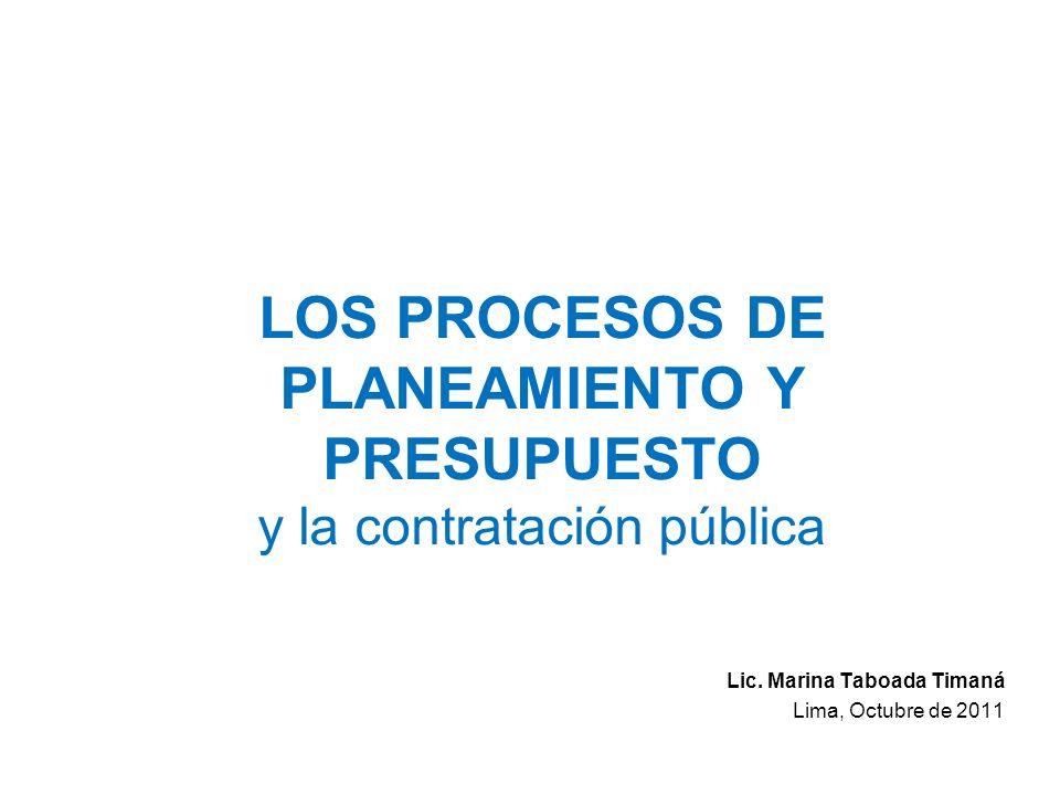 Ejemplo: PESEM - Sector EF Plan Estratégico Sectorial Multianual del Sector Economía y Finanzas 2007-2011: –Explicita los lineamientos de política para la mejora de la calidad del gasto.