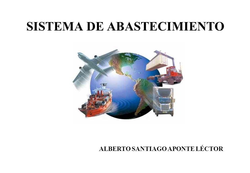 SISTEMA DE ABASTECIMIENTO ALBERTO SANTIAGO APONTE LÉCTOR