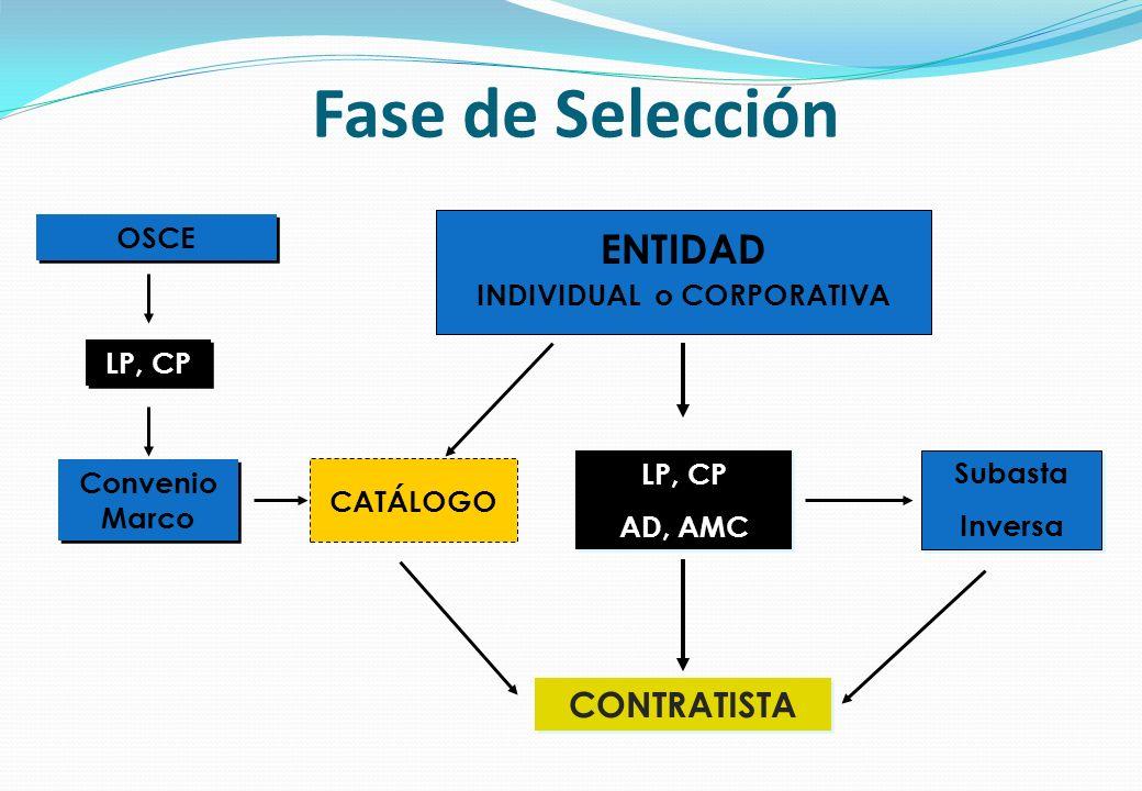 Fase Preparatoria Comité Especial: 3 miembros (Titulares y suplentes) Conformación igual a proceso tradicional.