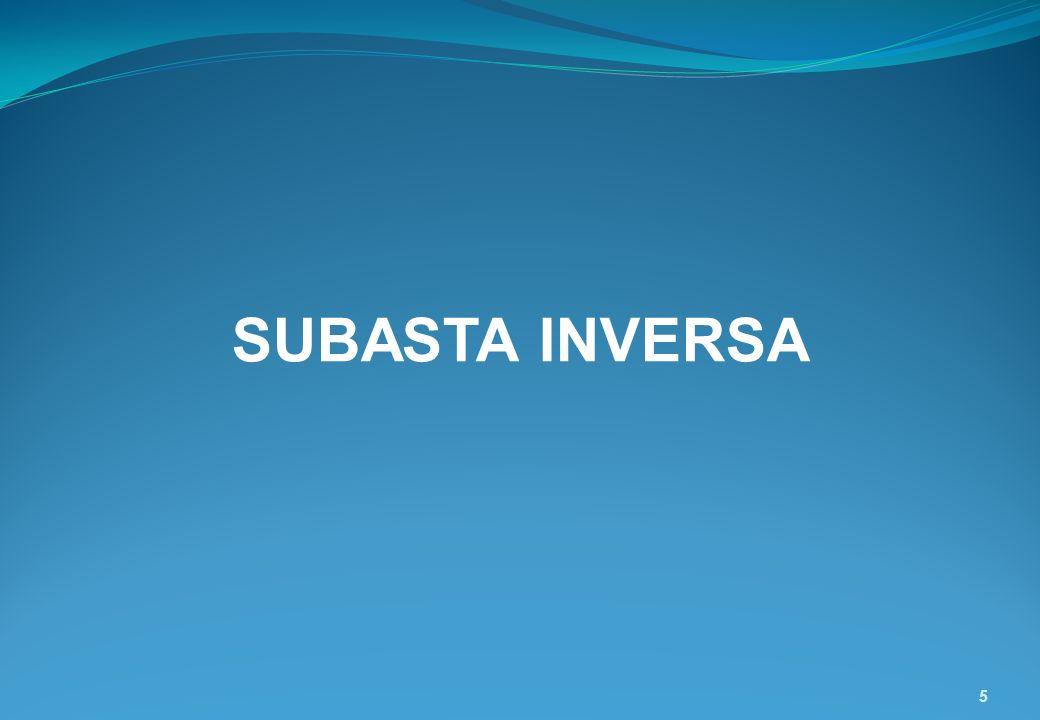 5 SUBASTA INVERSA