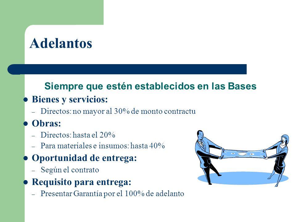 Subcontratación Siempre que las bases lo autorice. Requisitos: – Aprobación previa por escrito – No exceder 40% de la prestación – Capacitación y tecn
