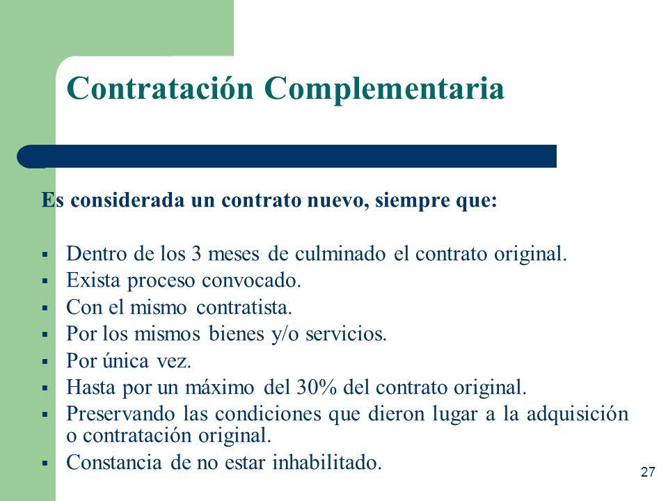 26 Pagos Plazos: – Conforme al contrato – Retraso = Interés Legal Reajustes: – Permitidos sólo cuando las condiciones que dieron origen al contrato ha