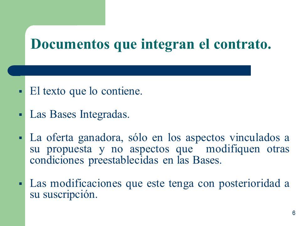 5 Requisitos para suscribir el contrato El ganador de Buena Pro debe presentar: – Constancia de no estar inhabilitado, salvo los casos de AMC. – Garan