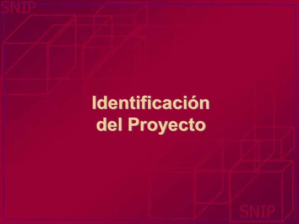 Instrumento de Formulación, Gestión y Evaluación de Proyectos Marco Lógico