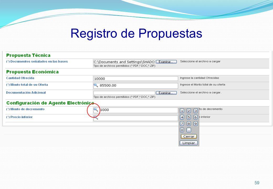 Registro de Propuestas 59