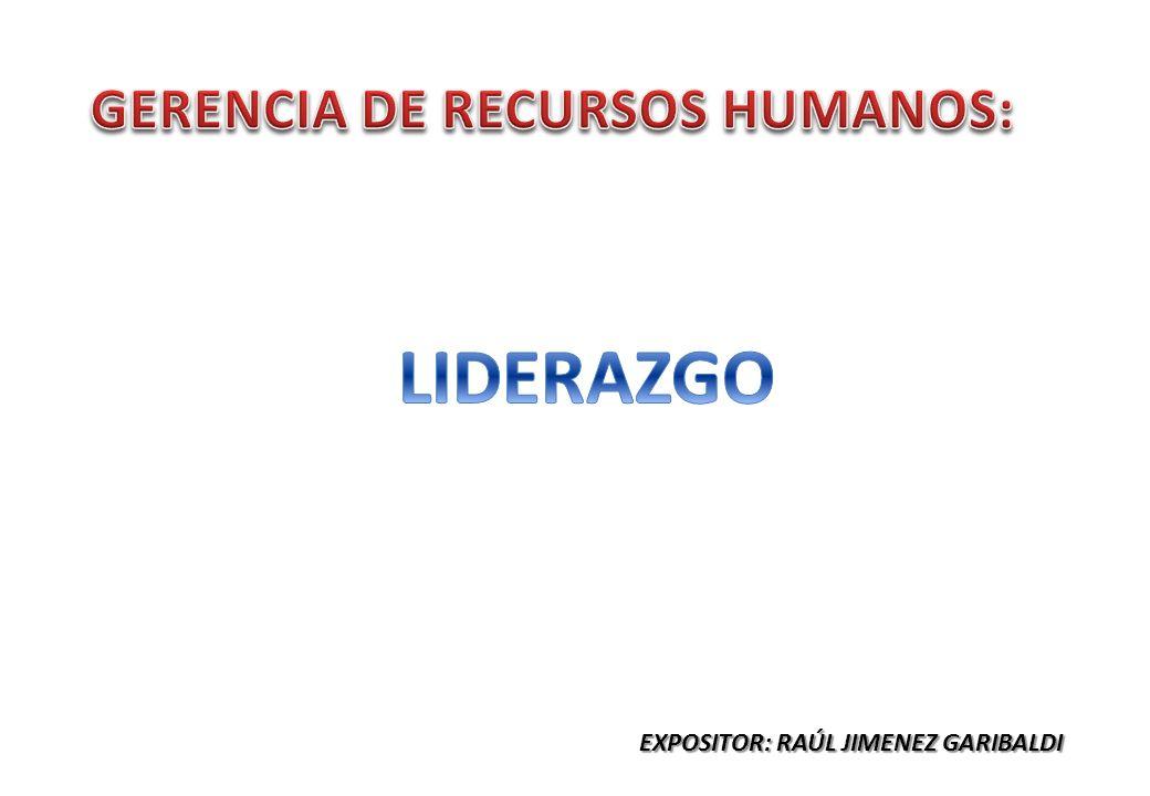 EXPOSITOR: RAÚL JIMENEZ GARIBALDI
