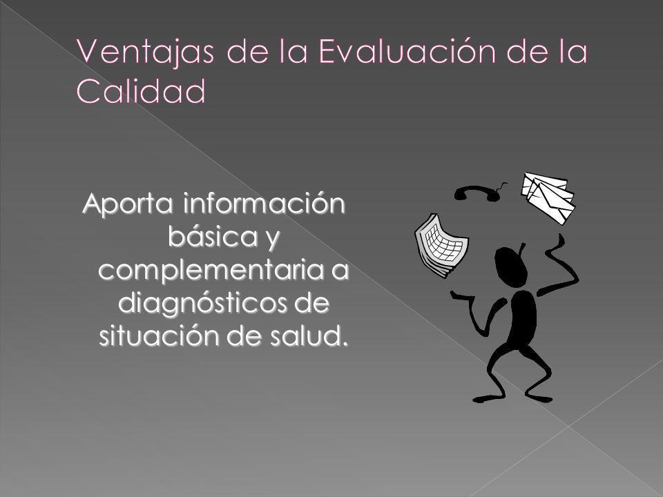 Aporta información básica y complementaria a diagnósticos de situación de salud. Aporta información básica y complementaria a diagnósticos de situació