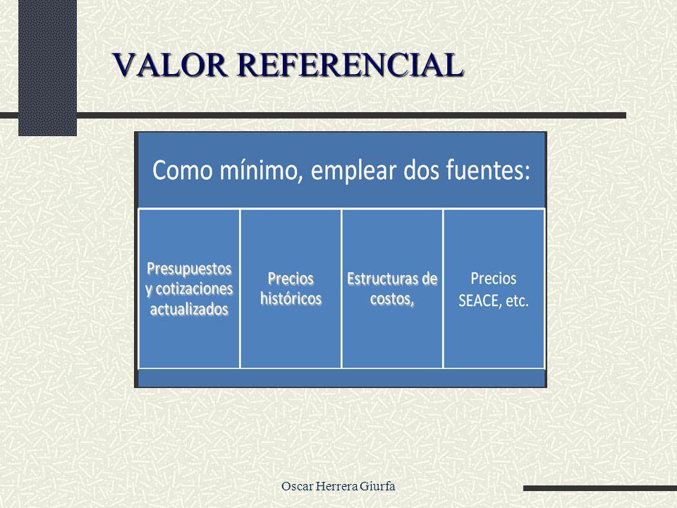 Oscar Herrera Giurfa VALOR REFERENCIAL