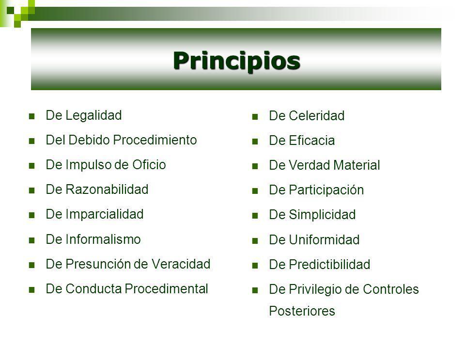 Los sujetos son: Administrado / recurrente / interesado Administración / Autoridad Administrativa Sujetos del Procedimiento