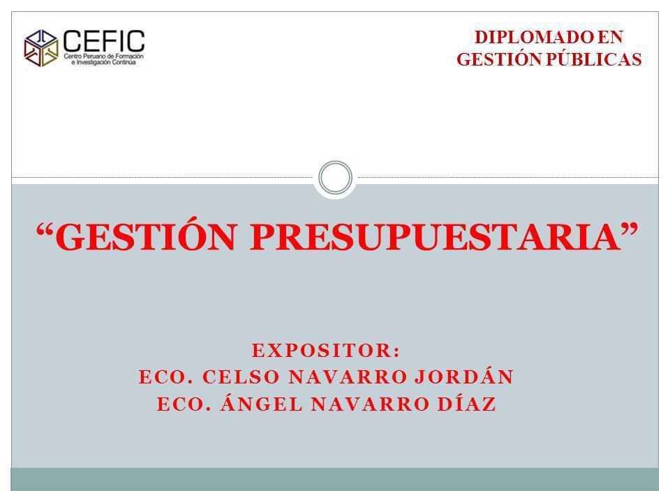 La Ejecución de Fondos Públicos.Art.
