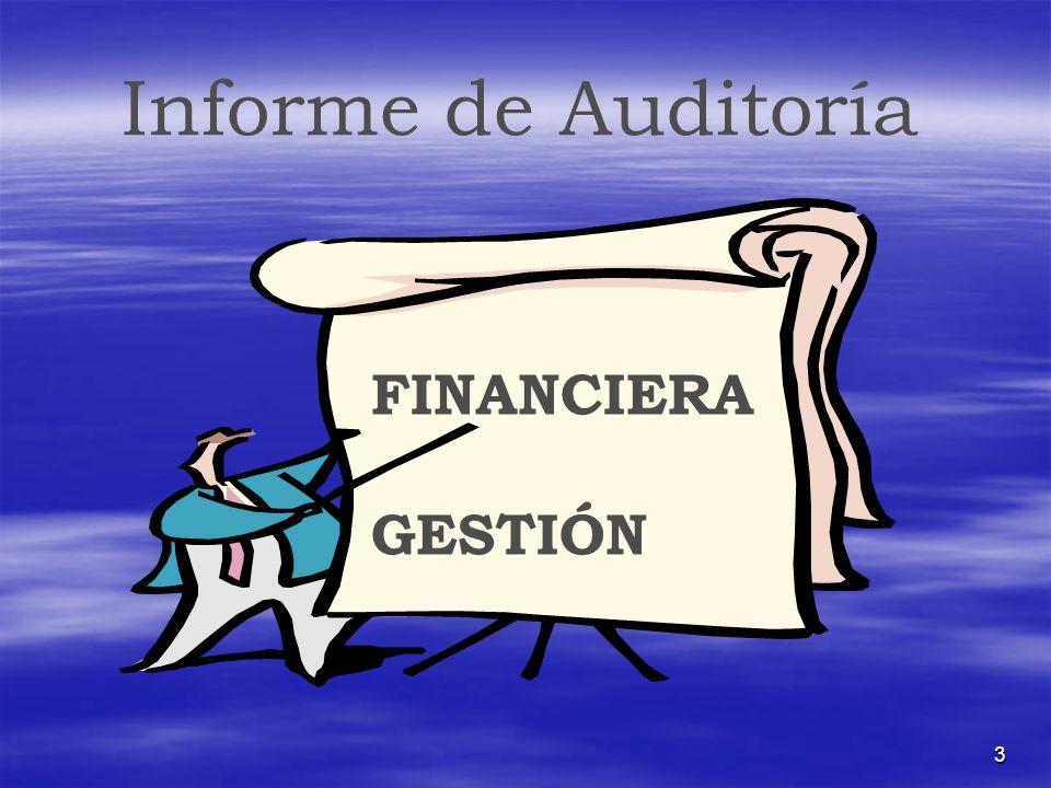 3 Informe de Auditoría FINANCIERA GESTIÓN
