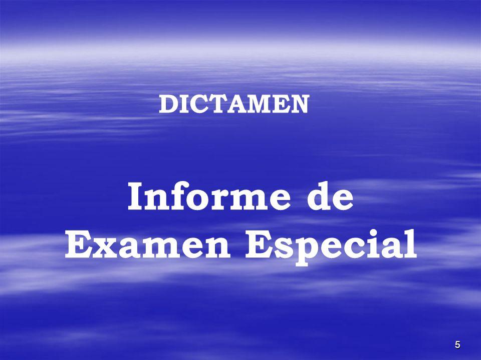 5 Informe de Examen Especial DICTAMEN