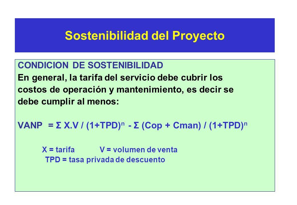 Sostenibilidad del Proyecto Consiste en mantener el PIP vigente durante su vida útil. Algunos aspectos a tener en cuenta son: * Arreglos institucional
