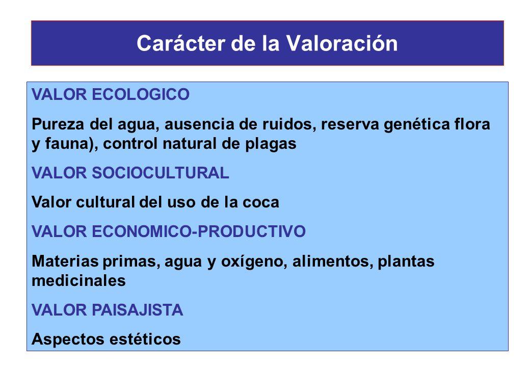 Características del Ambiente Funciones económicas del ambiente: * Proveer de recursos * Captador de residuos * Fuente directa de bienestar El valor in