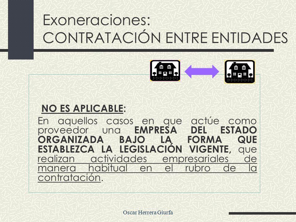 PROCEDIMIENTO DE EXONERACIÓN Y SOLUCION DE CONTROVERSIAS EN EL PROCESO Oscar Herrera Giurfa