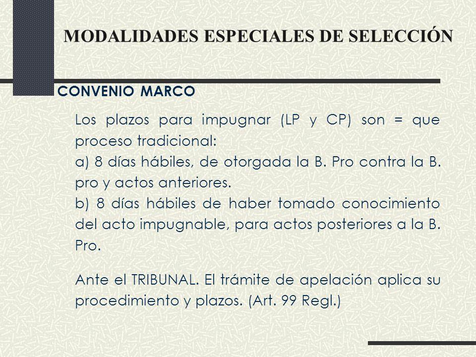 SUBASTA INVERSA Presencial y Electrónica : La competencia de la Entidad o del Tribunal dependerá del tipo de proceso.