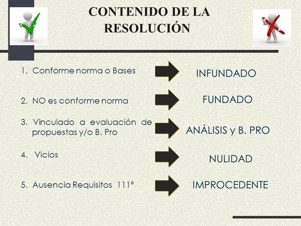 CONVENIO MARCO Los plazos para impugnar (LP y CP) son = que proceso tradicional: a) 8 días hábiles, de otorgada la B.