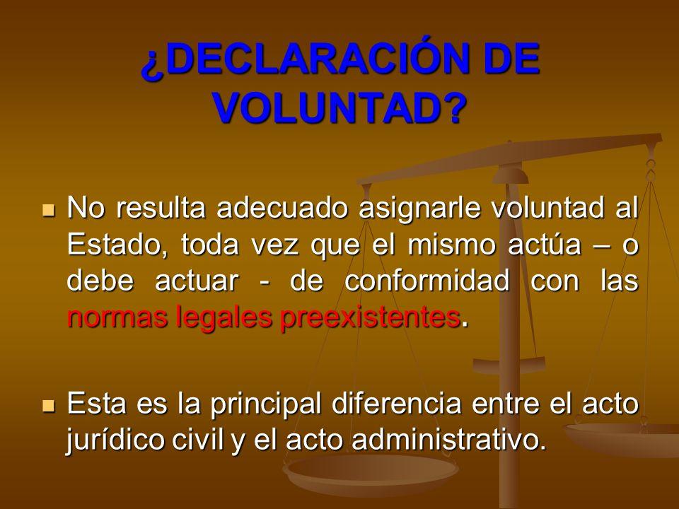 NO SON ACTOS ADMINISTRATIVOS No son actos administrativos los comportamientos y actividades materiales de la Administración, que no se configuran en instrumentos legales y que no implican un acto formal de la Administración; pero generan efectos jurídicos.