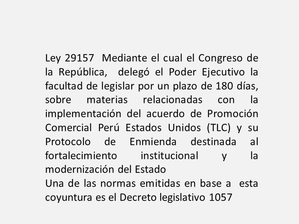 Decreto Legislativo que regula el Régimen Especial de Contratación Administrativa de Servicios (28.06.2008).