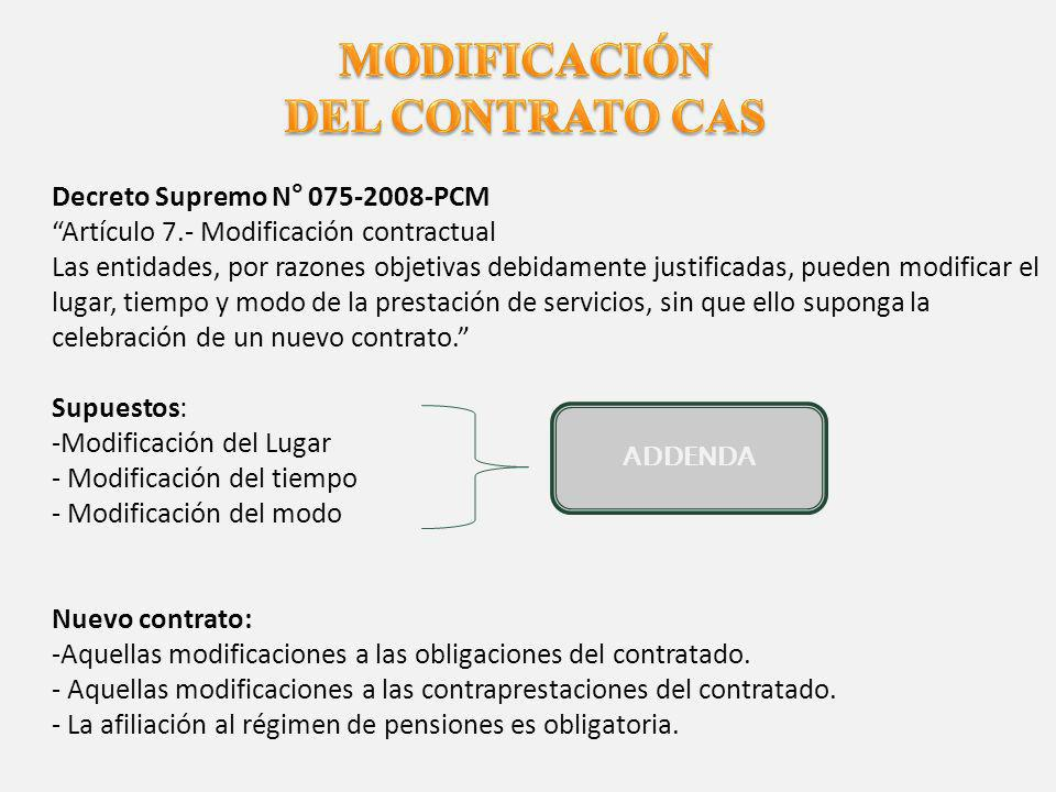 DESNATURALIZACIÓN DEL CONTRATO D.LEG Nº 1057REGLAMENTO (D.S.
