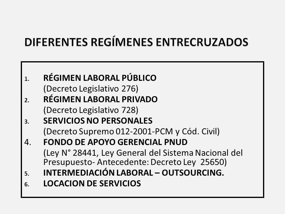 EMPLEADOS PÚBLICOS POR SECTORES