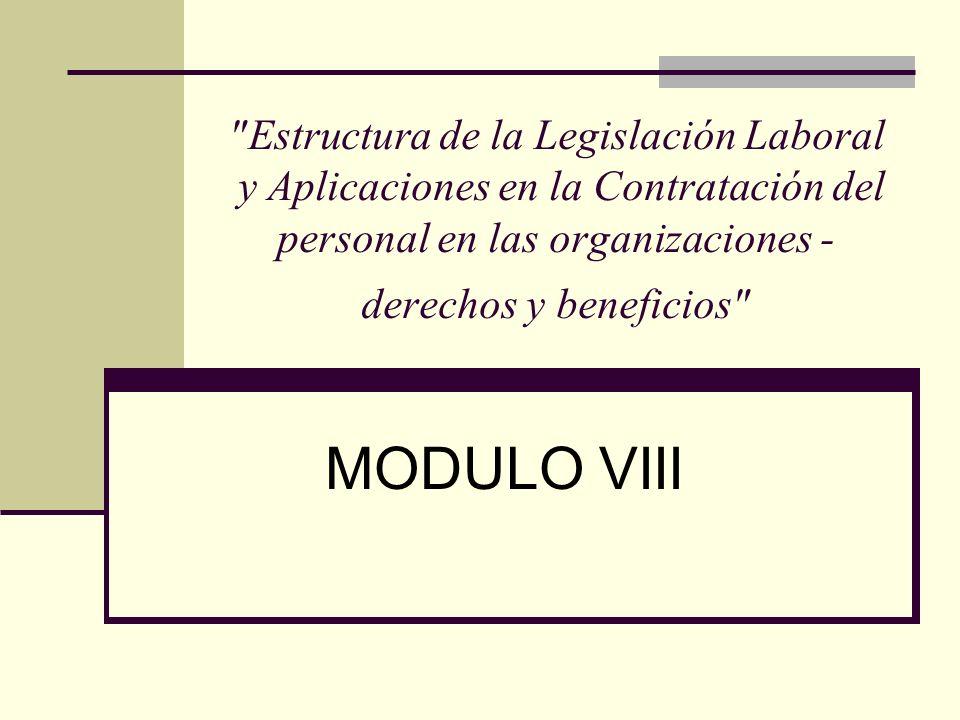 Aspectos generales Modalidades formativas laborales: Javier Neves: El factor formativo, no es suficiente para sustraerla del ámbito del Derecho del Trabajo.