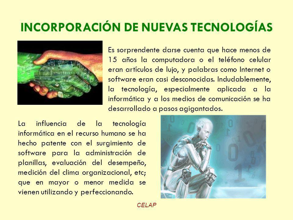 CELAP Es sorprendente darse cuenta que hace menos de 15 años la computadora o el teléfono celular eran artículos de lujo, y palabras como Internet o s