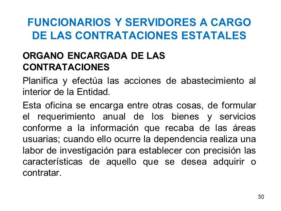 Comprende la planificación de las necesidades, la aprobación del Plan Anual de Contrataciones, la formación del expediente de contratación, la designa