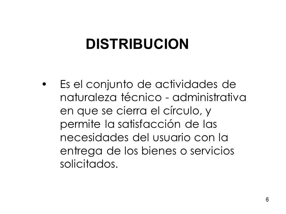 5 Este proceso comprende las siguientes actividades: - Determinación de necesidades. - Consolidación de necesidades. - Formulación del plan de adquisi