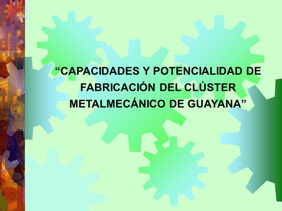 ASOCIACIÓN DE INDUSTRIALES METALURGICOS Y DE MINERÍA DE VENEZUELA Capítulo Regional Guayana PRESENTA