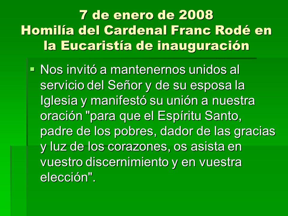 21 de febrero de 2008 Discurso de Benedicto XVI a la CG 35ª.
