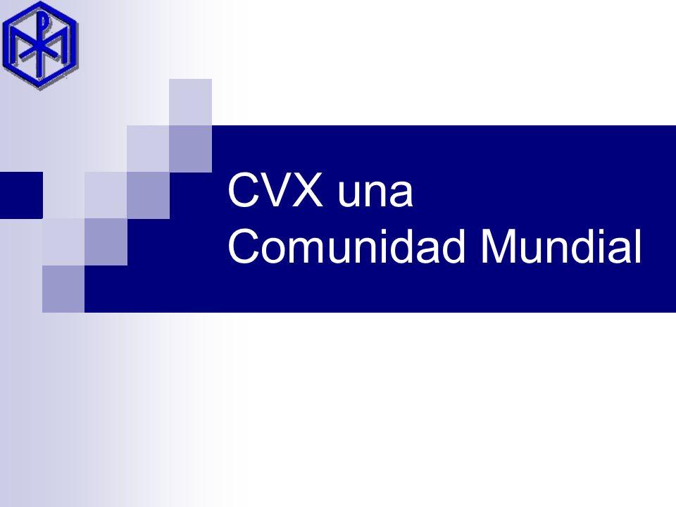 CVX una Comunidad Mundial