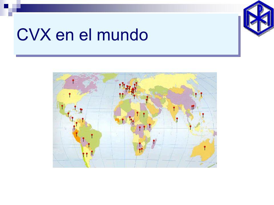 CVX en el mundo