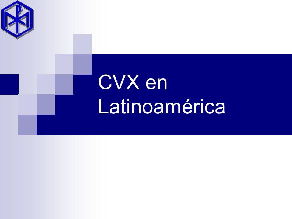 CVX en Latinoamérica