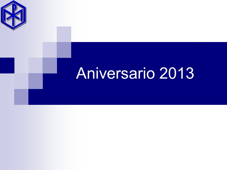 Aniversario 2013