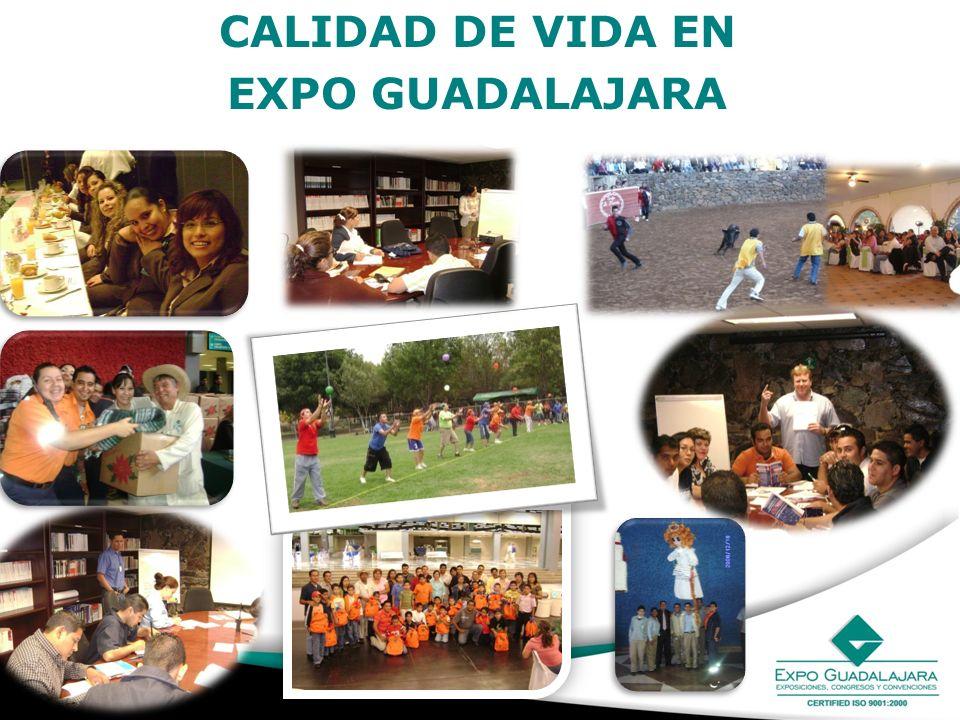 CALIDAD DE VIDA EN EXPO GUADALAJARA