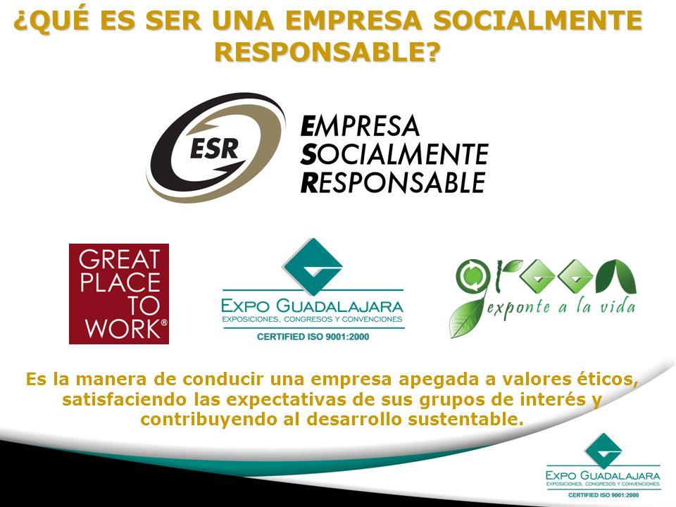 Es la manera de conducir una empresa apegada a valores éticos, satisfaciendo las expectativas de sus grupos de interés y contribuyendo al desarrollo s