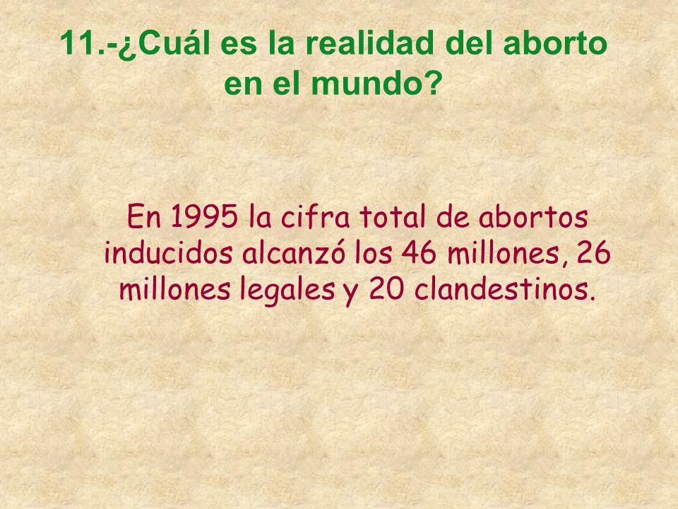 10.-¿Qué consecuencias pueden sufrir los hijos posteriores al aborto? A)RECIÉN NACIDOS DISCAPACITADOS EN POSTERIORES EMBARAZOS B) PELIGRO DE MUERTE PA