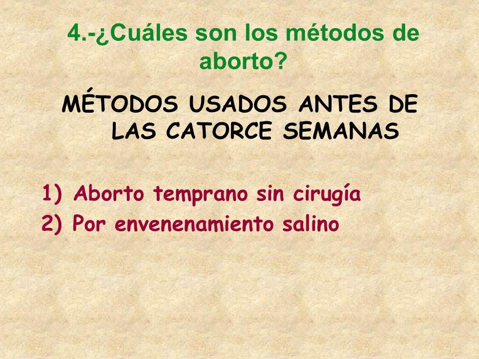 6.-¿Cuáles son las consecuencias fisiológicas a largo plazo del aborto en la madre?