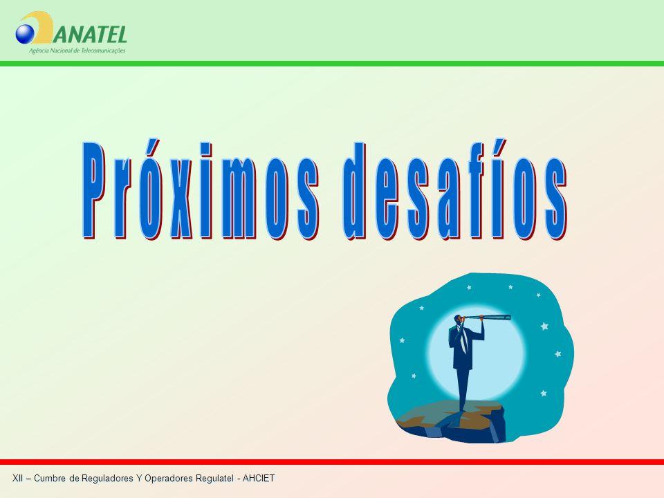 XII – Cumbre de Reguladores Y Operadores Regulatel - AHCIET