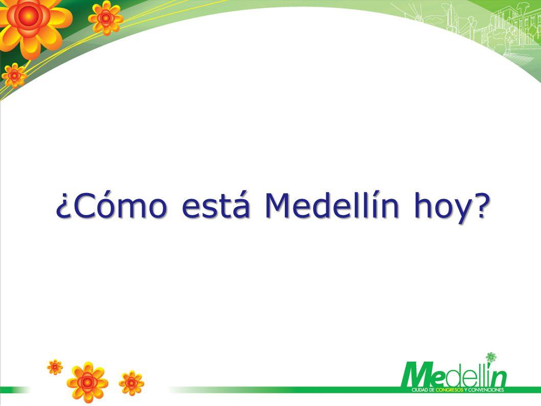 Medellín se proyecta como modelo de transformación social en América Latina Medellín hoy, como nunca antes, es foco de atención mundial por su capacidad de mutar positivamente, sin importar las dificultades, con cambios de verdadero impacto.
